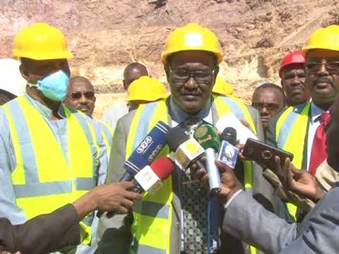 TV Interview With Red Sea Wally At Ariab Mining Company
