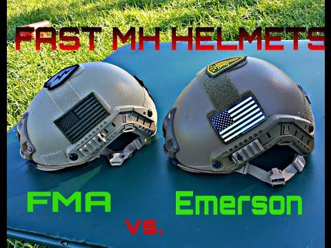 FMA vs Emerson: Airsoft Helmets