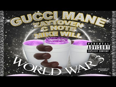 Gucci Mane - Extacy Pill (ft. Thug) [World War 3: Lean]