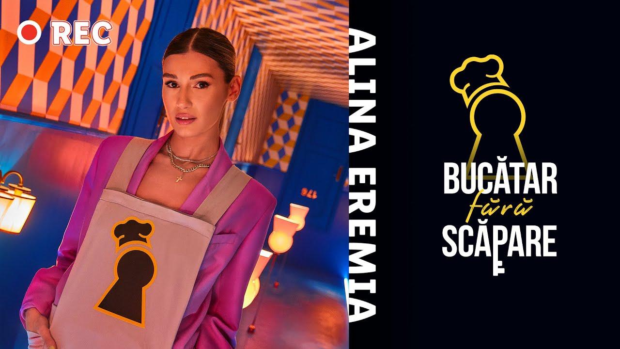 Alina Eremia intra in escape kitchen-ul Bucatar fara Scapare