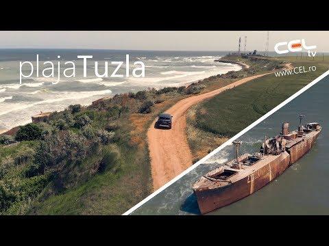 Plaja salbatica de la Tuzla 2018 si epava de la Costinesti cu drona 🚁