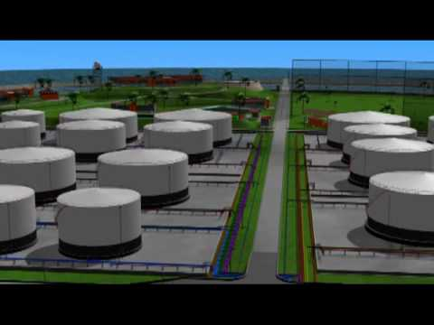 Oil storage tanks.mp4