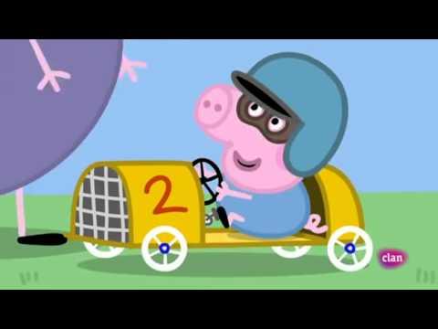 El Coche de Carreras de George - Peppa Pig