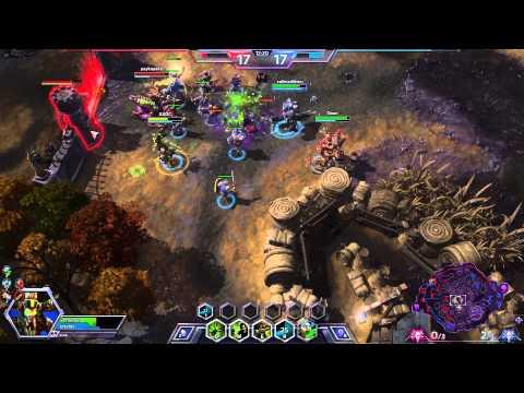 видео: hots: Лайв игра за Назибо - качели