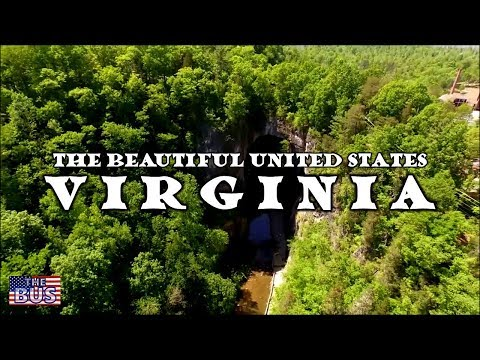 USA State of Virginia Symbols / Beautiful Places / Song OUR GREAT VIRGINIA w/lyrics