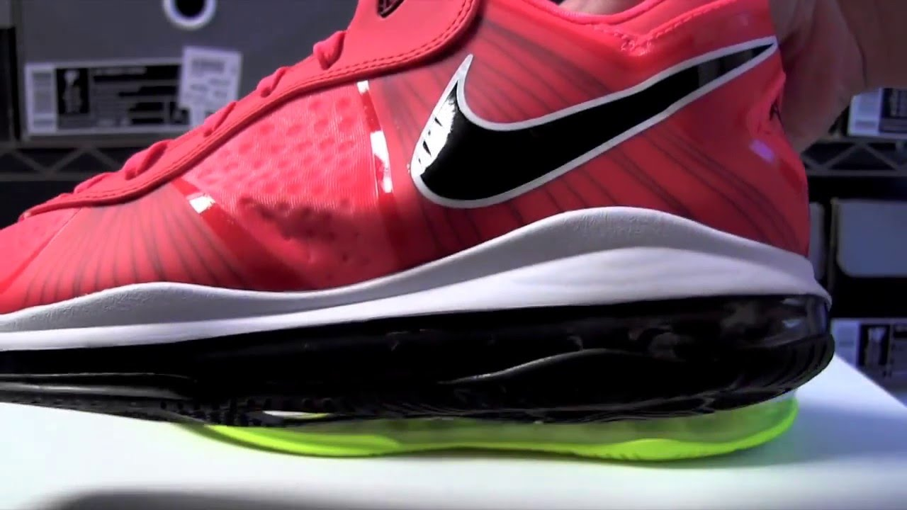 new products 5efca 463f7 Nike LeBron 8 V2 Low Solar Red Review - YouTube