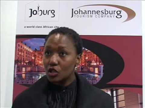 Lindiwe Mahlangu, CEO of Johannesburg Tourism Company @ WTM 2008