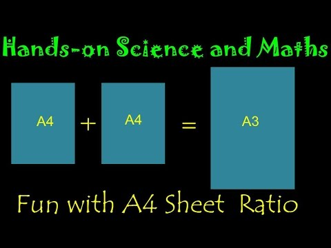 Magic A4 Sheet Ratio  English