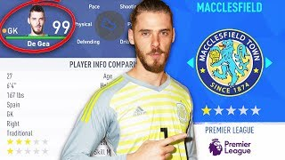 Could a 99 Rated Goalkeeper Keep a 1 Star Team in the Premier League? - FIFA 19 Experiment