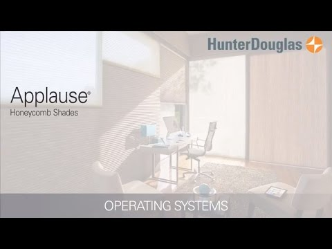 Applause® Honeycomb Shades - Operating Systems - Hunter Douglas