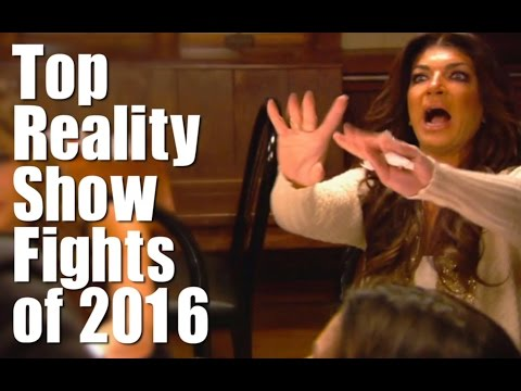 Top Reality Show Fights of 2016!!