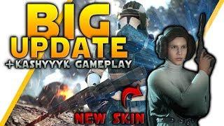 BIG UPDATE: Kashyyyk CS Gameplay, Leia Skin, Maul & Yoda Blocking, Full Patch Notes - Battlefront 2
