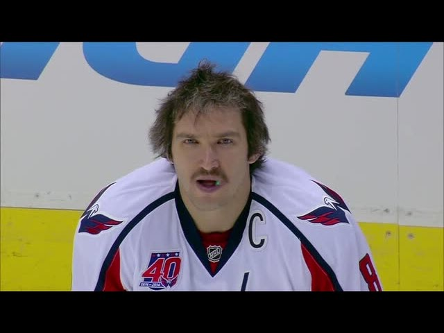 Power of the 'Stache - Alex Ovechkin