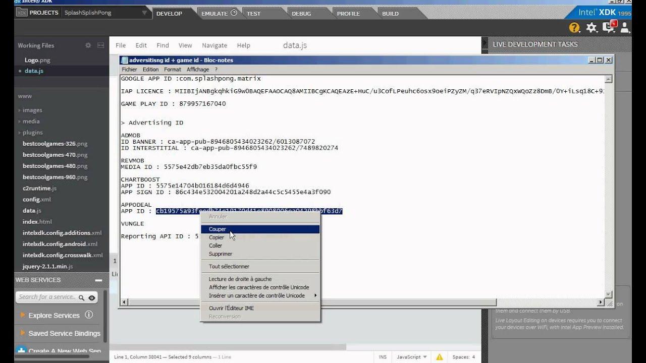 Customize Game Template Clone Using Intel Xdk To  Apk Crosswalk With Webgl