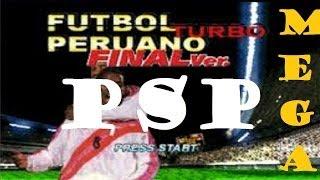 PSP | Como Descargar Futbol Peruano Turbo | MEGA  | ISO | 2013 | (Winning Eleven 3 F. V.)