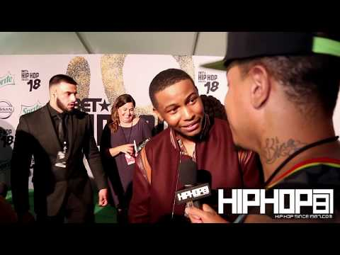 Nick Grant Talks the BET Cypher, Lil Wayne, His New Project & More at the 2018 BET Hip-Hop Awards