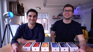 iPhone Xr Unboxing mit Julian | alle Farben!
