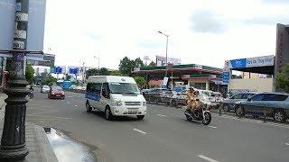 Đoàn Audi A4 APEC được CSGT hộ tống - APEC convoy run fast with police supporting