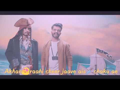 King Queen - The Landers | Mr. V Grooves | Punjabi Song For Whats App Status Lyrics Video