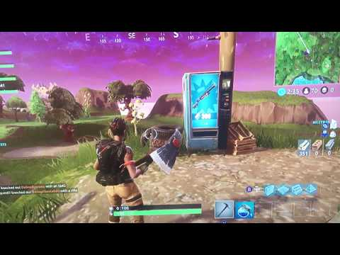 Fortnite VENDING MACHINE LOCATIONS | Moisty Mire Vending Machine (fortnite Battle Royale)