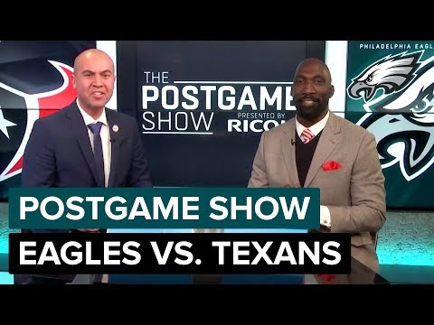 Philadelphia Eagles vs. Houston Texans Postgame Show | 2018 Week 16