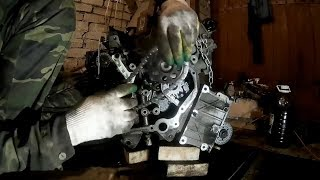 Ford Explorer IV –замена цепей ГРМ