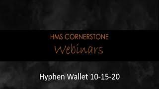 Hyphen Wallet Webinar