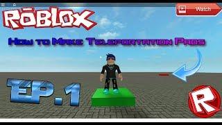 Ep.1 Roblox Tutorial - Wie man Teleportationspads macht