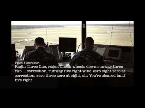 Control tower audio from Virginia Beach jet crash