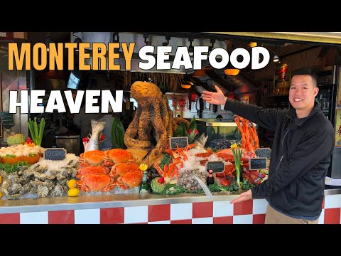 MONTEREY's Old Fishermans Wharf & Monterey Fish House 2019 | CALIFORNIA