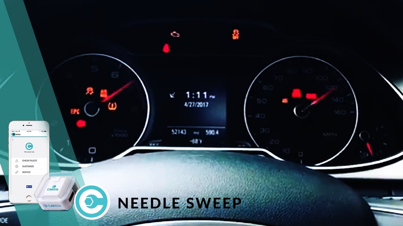 How to enable gauge needle sweep on your car - Carista Blog