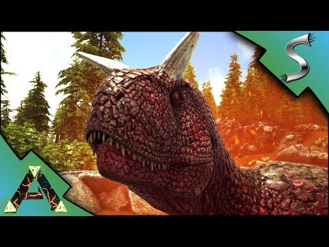 THE WARPACK VS ALPHA CARNO! SEARCHING FOR SOMETHING TO TAME! - Ark: RAGNAROK [DLC Gameplay E20]