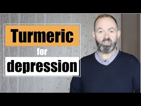 Turmeric for depression health benefits