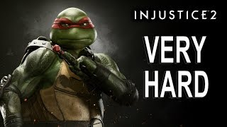 Injustice 2 - Raphael Battle Simulator (VERY HARD) NO MATCHES LOST
