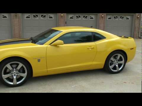 sold 2010 chevrolet camaro 2ss transformer yellow 426hp for sale see www sunsetmilan com. Black Bedroom Furniture Sets. Home Design Ideas