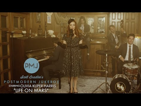 Life On Mars - David Bowie (Smoky Jazz Ballad Cover) Ft. Olivia Kuper Harris