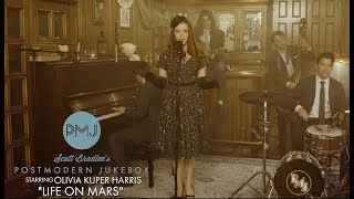 Life On Mars  David Bowie (Smoky Jazz Ballad Cover) ft. Olivia Kuper Harris