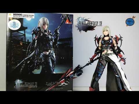 Play Arts Kai Final Fantasy XV: Aranea Highwind REVIEW