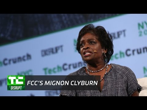 Defending the Internet with the FCC's Mignon Clyburn | Disrupt NY 2017