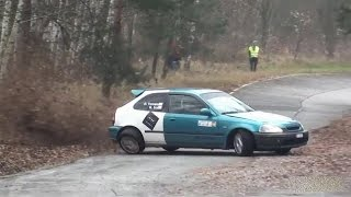 Honda Civic EJ9 Rally Big Crash!