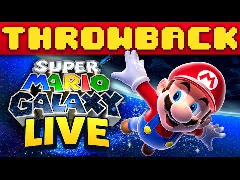 [LIVE] Super Mario GALAXY - THROWBACK Thursday!