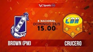 Guillermo Brown vs Crucero del Norte full match