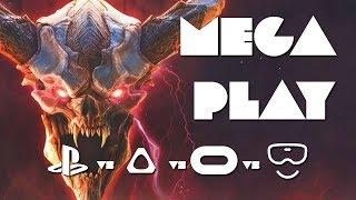 VR MEGA PLAY: Doom VFR - PSVR vs Vive vs Rift vs Windows Mixed Reality