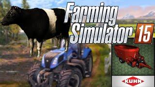 Comment nourrir les vaches dans Farming Simulator 2015 / GUIDE / HD /