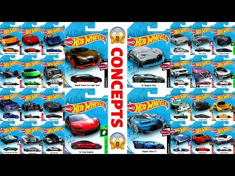 HOT WHEELS CONCEPT CARS!!! Made By HW Hot News!!! #EPIC 13+
