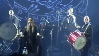 PJ Harvey - A Line In The Sand. live @Release Athens 2016