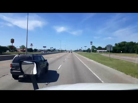 BigRigTravels LIVE! - Fort Worth to Waco, Texas - Interstate 35 - April 27, 2017