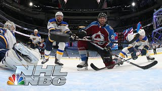 NHL Stanley Cup Round Robin: Blues vs. Avalanche | EXTENDED HIGHLIGHTS | NBC Sports