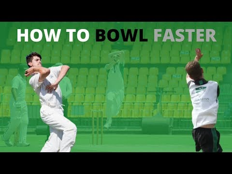 How To Bowl Faster