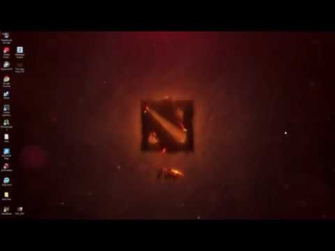 DOTA 2 // Wallpaper Engine // FreeCopyright Download Fire Logo Dota 7.20